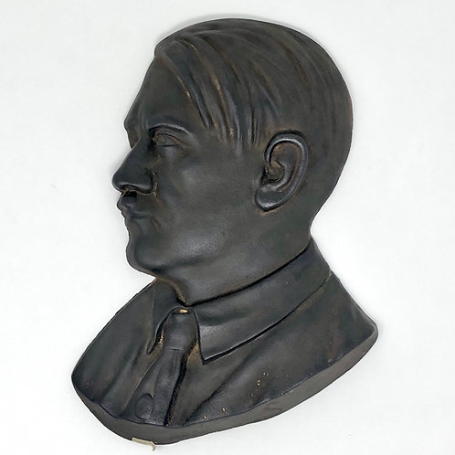 Busto de Fierro Vaciado Adolf Hitler