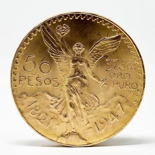COMPRA Y VENTA de Centenario Moneda de 50 Pesos Oro