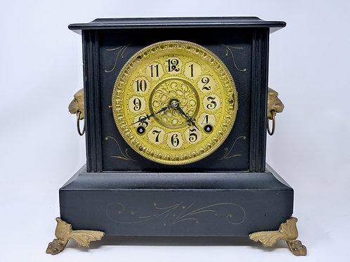Reloj Antiguo de Mesa Marca William Gilbert Clocks Siglo XIX