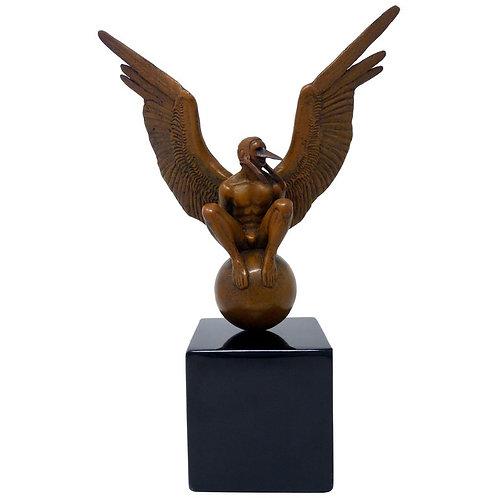 Boceto Bernardo Oriental Escultura en Bronce de Jorge Marín
