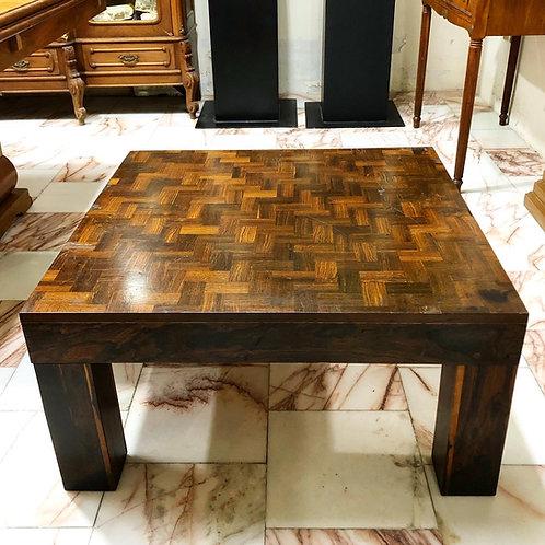 Mesa de Sala Diseñada Por Don Shoemaker Madera con Marquetería