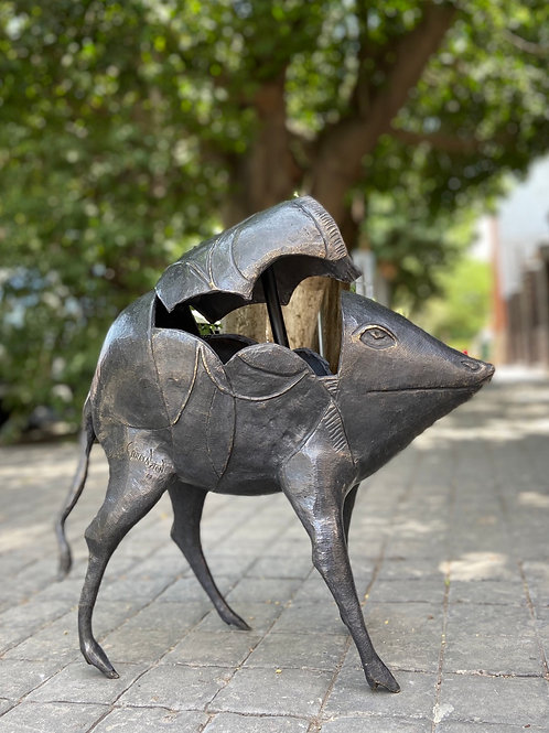 Escultura en Bronce de Leonora Carrington Albino Hogg
