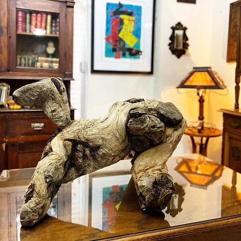 Escultura Antigua De Formación Natural Madera de Raíz