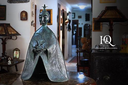 Dragoneza Escultura en Bronce de Leonora Carrington