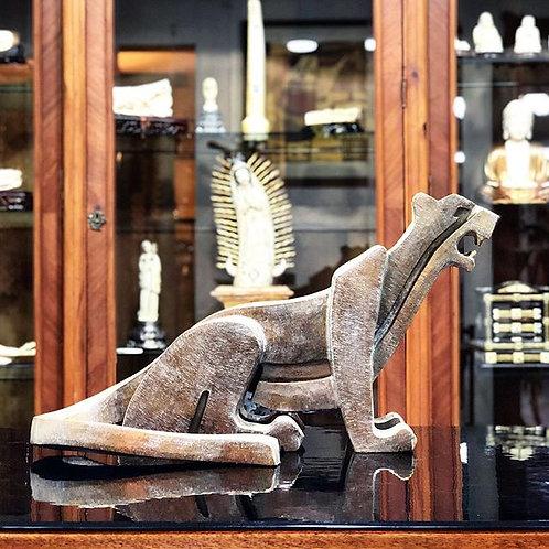 Jaguar Escultura en Bronce de Raul Navarro 2019