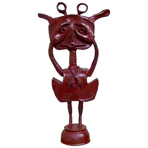 Niña Cangreja Escultura en Bronce de Sergio Hernandez
