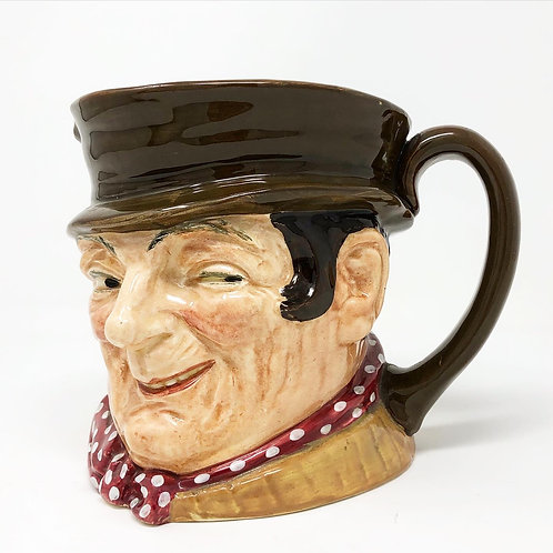 Taza de Porcelana Royal Dulton Sam Weller Ca. 1950
