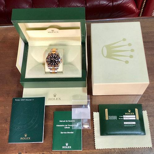 Rolex GMT-Master II Oro Acero Modelo 116713LN