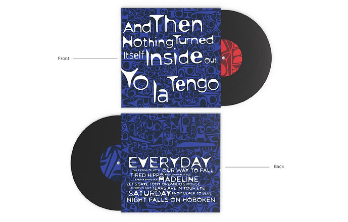 LP Cover Front + Back View