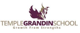Logo of the Temple Grandin School in Boulder, Colorado