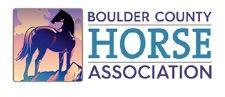 Logo of the Boulder County Horse Association.