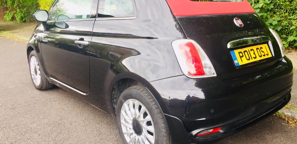 Fiat 500C 2013 (13 reg)