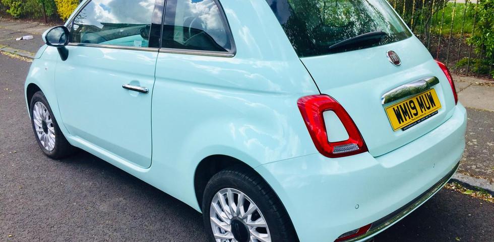 Fiat 500 2019 (19 reg)  1.2 8V Lounge (s/s) 3dr