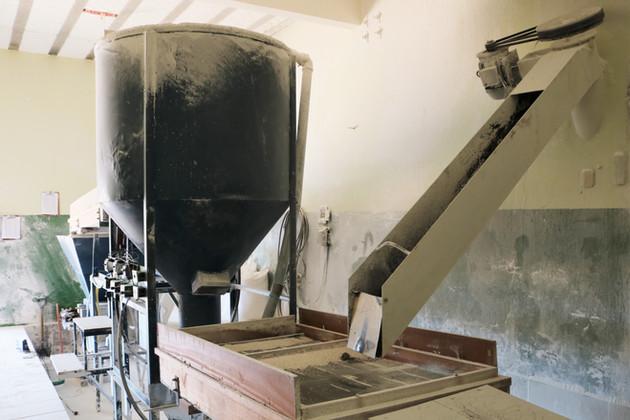 Máquina para embalar o polvilho