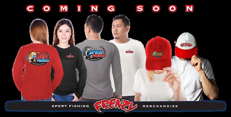 Frenzy Merchandise - shirts, caps & more
