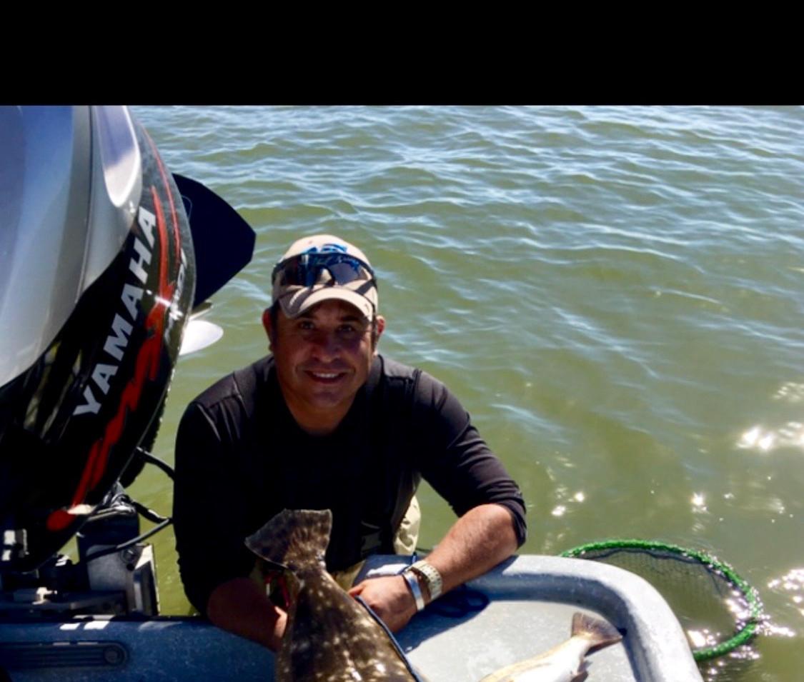 Saddle blanket flounder
