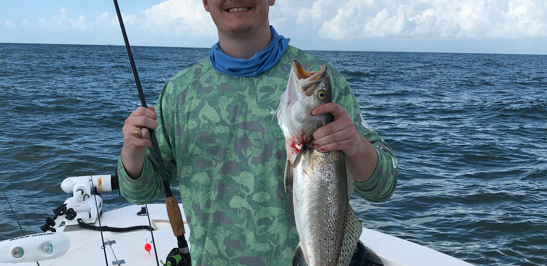 Galveston Bay is teeming with Speckled Trout