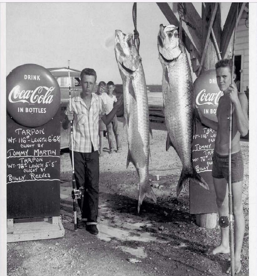Tarpon Tournament 1950s Texas City