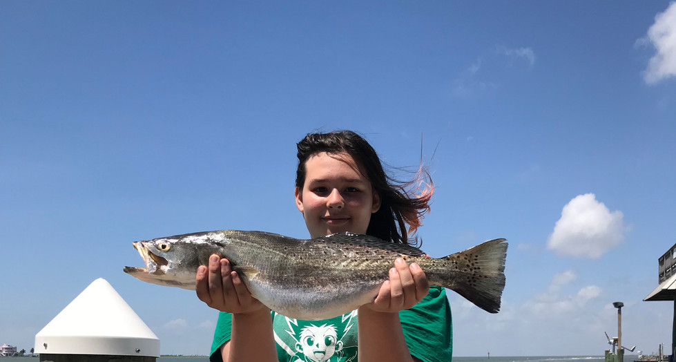 Bella's big speckled trout