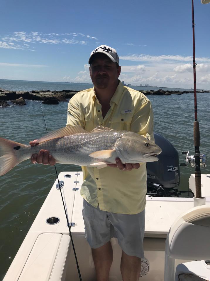 Captain's Jetty Redfish