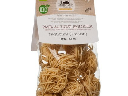Tagliolini (tajarin) all'uovo BIO