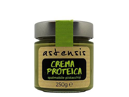 Crema proteica (proteine 34%) al pistacchio
