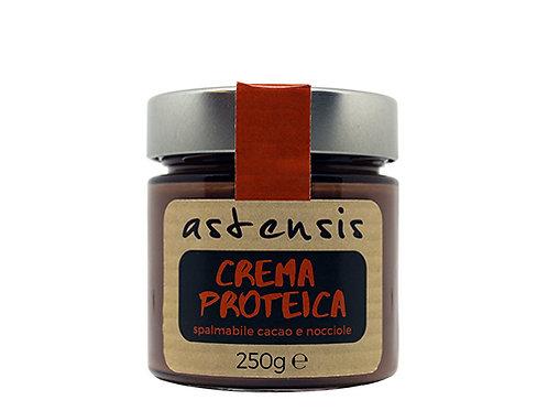 Crema proteica (proteine 34%) al cacao e nocciole