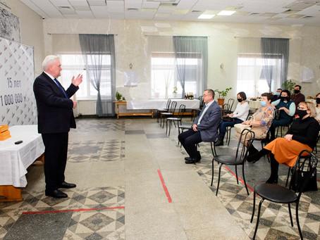 Группа компаний «Союз» поблагодарила врачей барнаульских больниц за самоотверженность