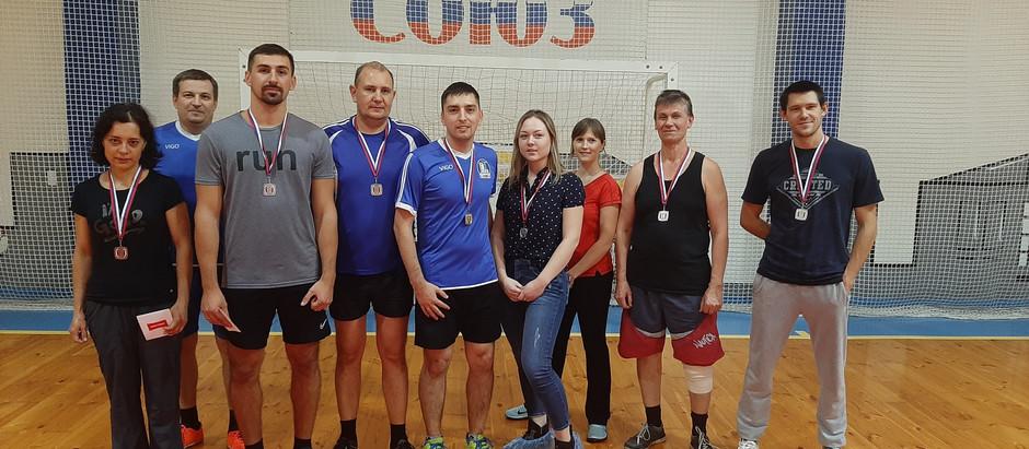 23 октября 2019 года прошли соревнования по настольному теннису