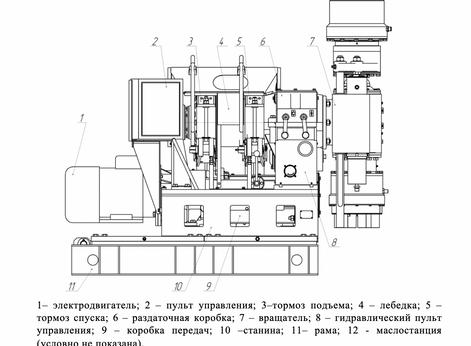 СТАНОК БУРОВОЙ СКБ-5115