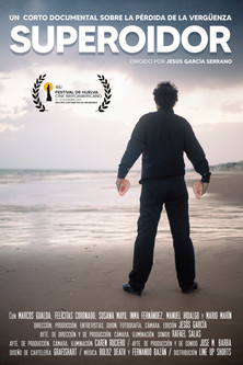 Cartel Documental SUPEROIDOR de espaldas