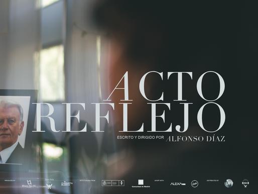 "Trailer - ""Acto reflejo"" (Alfonso Díaz, 2020)"