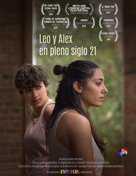 Poster festivales Leo y Alex con Laurele