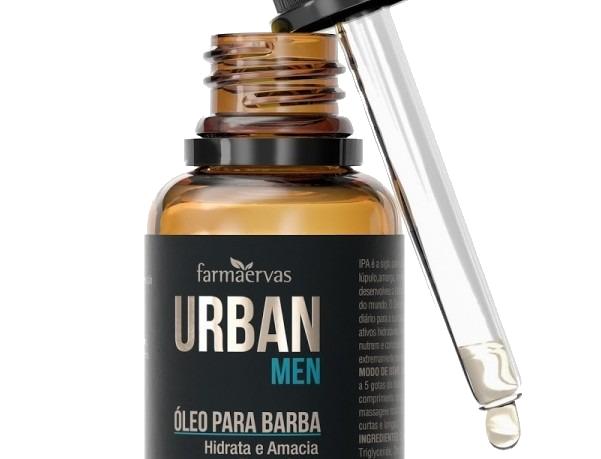 URBAN MEN OLEO P/ BARBA - 30ML