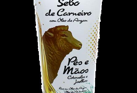 MASSAGEADOR SEBO DE CARNEIRO 200G COM ARGAN (BISNAGA)