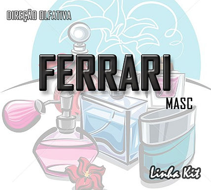 FERRARI BLACK (MARANELO BLACK) - 500ML Essência KIT