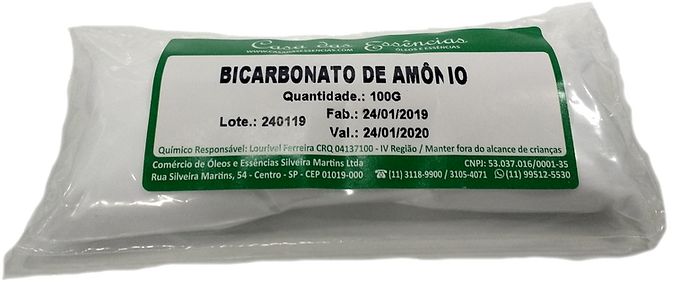 BICARBONATO DE AMONIO P.A.
