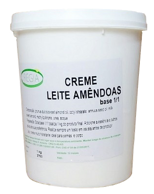 BASE CREME BOTHANIC LEITE DE AMENDOAS - KG