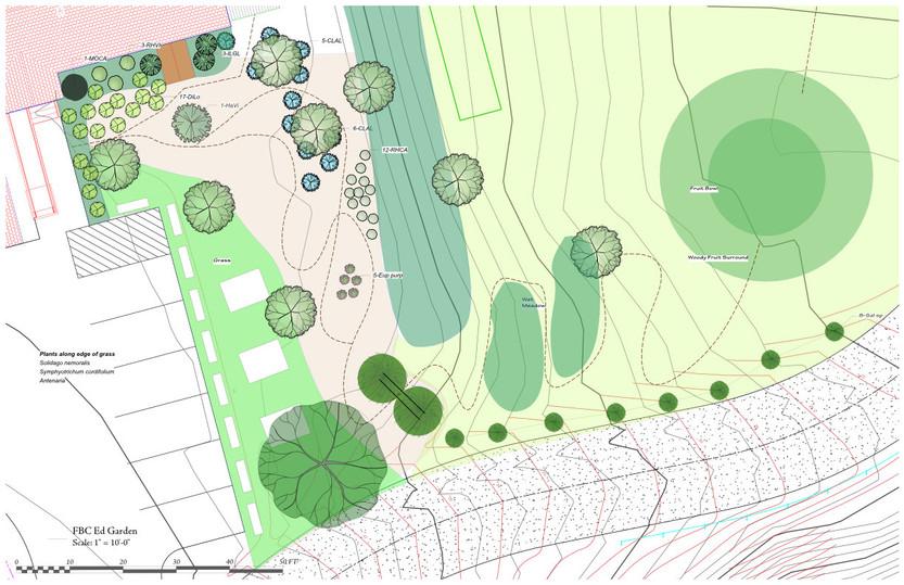 Detail of Education Garden