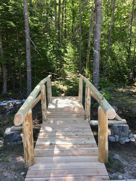 Bridge to ADA future trail