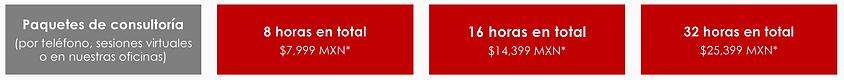 Paquetes de consultoría de Oracle Primavera