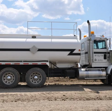 LUBE AND WATER TRUCK
