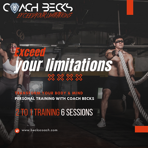 2 to 1 Personal Training - 6 sessions