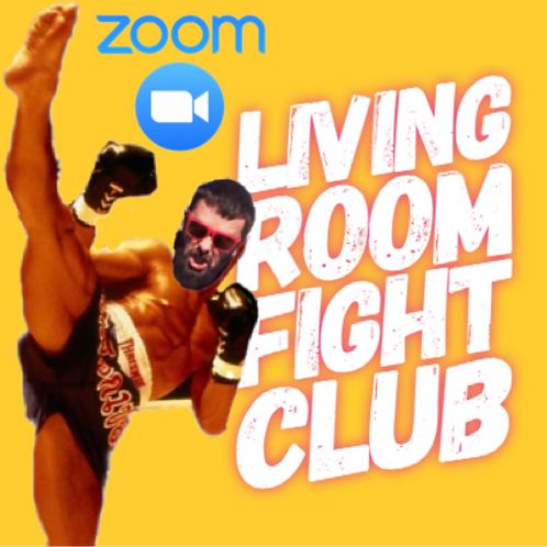 Living room Fight Club
