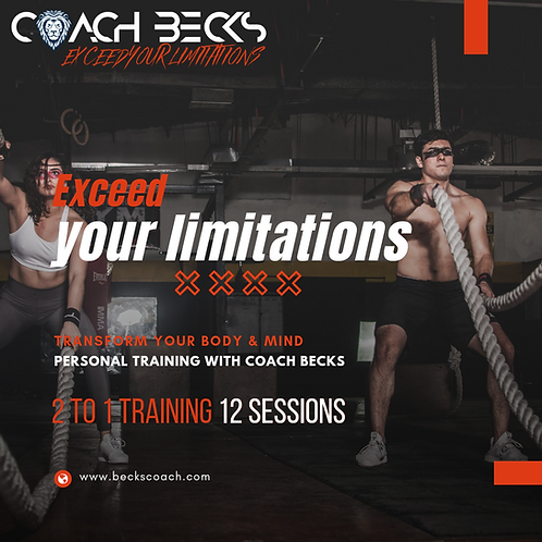 2 to 1 Personal Training - 12 sessions