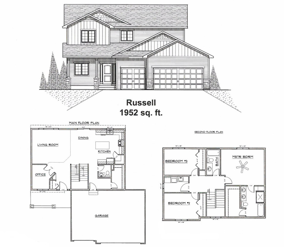 Russell ~ 3 bed 3 bath