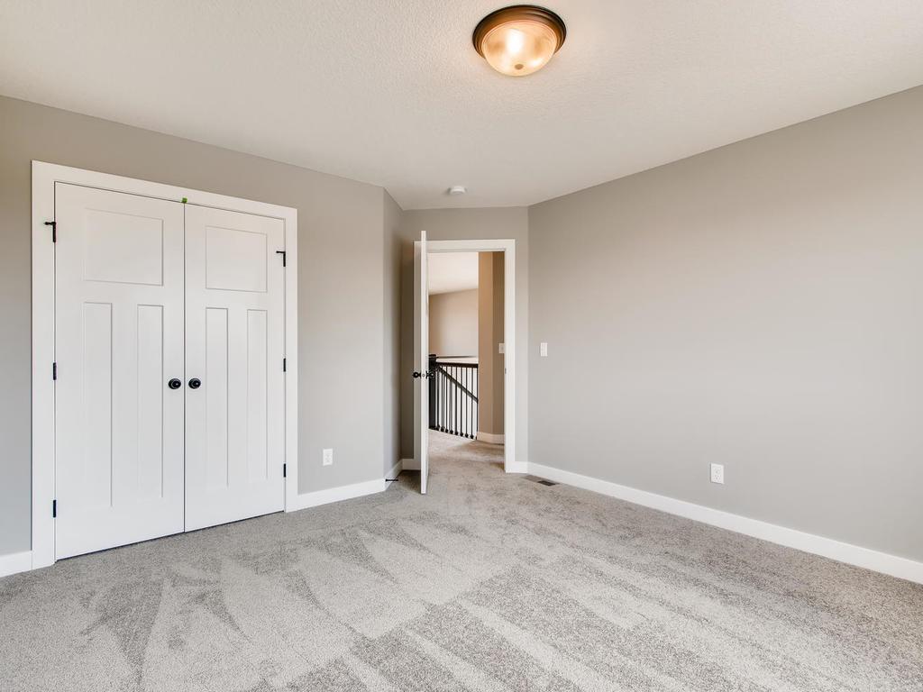 Swing style closet doors in bedrooms