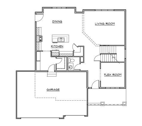 Rushmore III Main Floor ~ Similar Model
