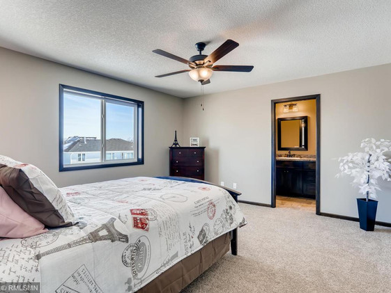 Teton Master Bedroom similar model - some optional features may not be included