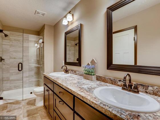 Teton Master Bath similar model - some optional features may not be included